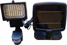 Projecteur solaire avec détecteur 60 LED 600 lumen