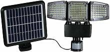 Projecteur solaire Blackburn - 3 tetes - H 23 cm -