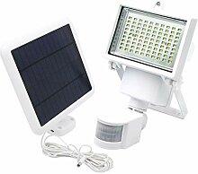 Projecteur solaire blanc eclairage puissant