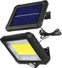 Projecteur solaire Lampe LED avec détecteur de