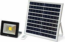 Projecteur solaire LED 20W avec panneau solaire
