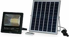 Projecteur solaire LED 40W avec panneau solaire
