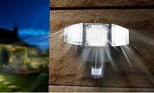 Projecteur solaire LED à 3 têtes Lumisky : 1