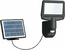 Projecteur solaire noir 15W LED 1000 lumens