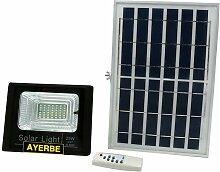 Projecteur solaire télécommandé 25W 36Leds