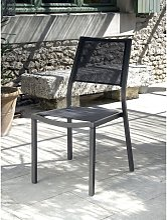 PROLOISIRS Chaise de jardin Florence Brun Taupe
