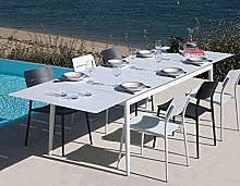 Proloisirs Chaises Jardin en Aluminium Chic (Lot