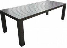 Proloisirs Table de jardin extensible en aluminium
