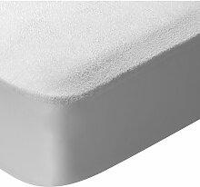 Protège-matelas en tissu éponge imperméable et