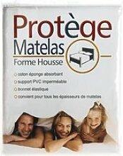 PROTEGE MATELAS FORME HOUSSE 90X190 CM 1 PERSONNE