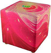 PSYWORK Tabouret 40 cm Neon Cube Blacklight