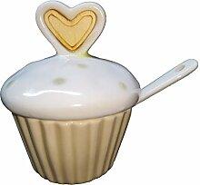 Publilancio Srl Sucrier en Forme de Cupcake