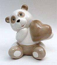 Publilancio Srl Tirelire en Porcelaine Panda 14 cm