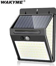 Puissant 140 LED lumière solaire extérieure