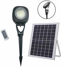 Puissant Projecteur solaire de Jardin en Aluminium