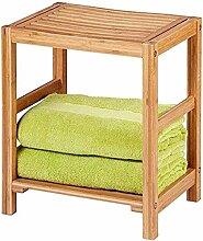 PULLEY - S Banc de douche en bambou et chaise de