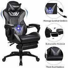 Puluomis - Chaise bureau massage gamer Chaise à