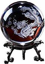 Pure clair cristal Laser 3d Dragon Ball avec
