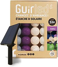 Purple Outdoor Guirlande lumineuse Guinguette