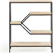 Push - Etagère en métal et bois M