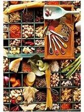 Puzzle 1000 pièces - pot-pourri de cuisine