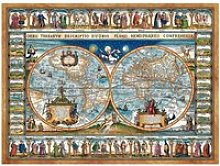 Puzzle 2000 pièces : carte du monde