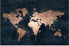 Puzzle 300 pièces-Carte du monde Unique 300
