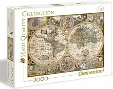 PUZZLE 3000 pieces - Carte ancienne - 188 X 84 cm