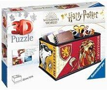 Puzzle 3d boite de rangement - harry potter
