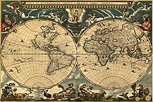 Puzzle 6000 pièces-carte du monde rétro 6000 pc