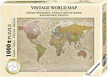 Puzzle Carte du Monde Vintage Maps in Minutes
