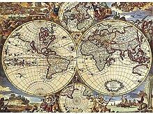 Puzzledepièces Puzzle puzzle ancienne carte