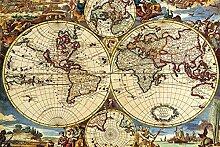 Puzzle Jigsaw Puzzle 3000 pièces - Carte du monde