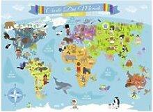 Puzzle puzzle 150 pcs carte du monde