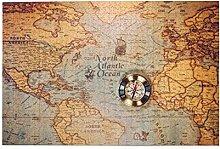 Puzzles 1000 pièces,Jour de Columbus et Carte du