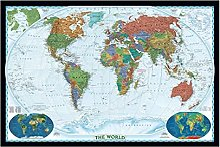 Puzzles 2000 pièces pour adultes-affiche de carte