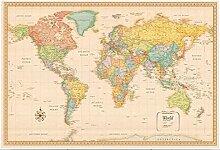 Puzzles 300 carte du monde 300 pièce Puzzle