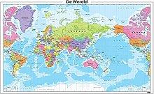 Puzzles pour adultes 500 pièce carte du monde des
