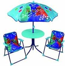Pyjamasques ensemble de jardin ( table, 2 chaises,