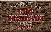 Pyramid Paillasson Welcome to Camp Crystal Lake