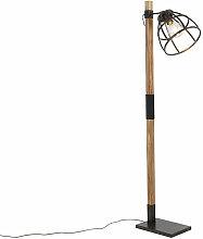 QAZQA arthur - Lampadaire Industriel - 1 lumière