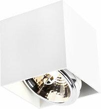 QAZQA box - LED Spot de plafond Design - 1