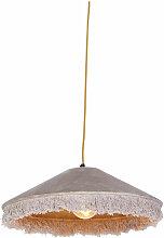 QAZQA frills - Suspension avec abat-jour Art Deco