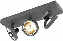 QAZQA go - LED Spot de plafond Design - 3 lumière