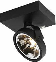 QAZQA go - LED Spot mural et plafond Design - 1