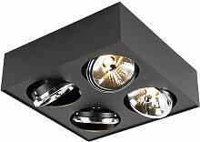 QAZQA kaya - LED Spot de plafond Moderne - 4