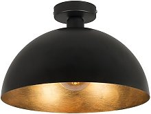 QAZQA magna licht88 - Plafonnier Rustique - 1