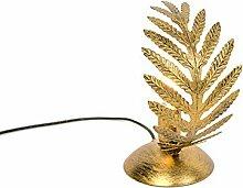 QAZQA Rétro Petite Lampe de Table/Lampe á