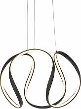 QAZQA rowana - LED Suspension Design - 1 lumière
