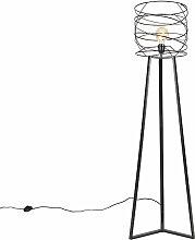QAZQA spira - Lampadaire Design - 1 lumière - H